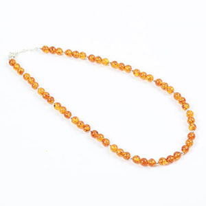 make amber necklace