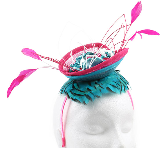 How to make an avant garde water lily fascinator tutorial