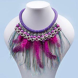 create avant garde necklace