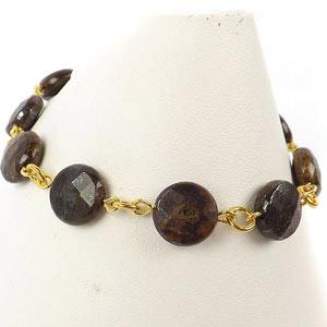 create a beaded link chain bracelet