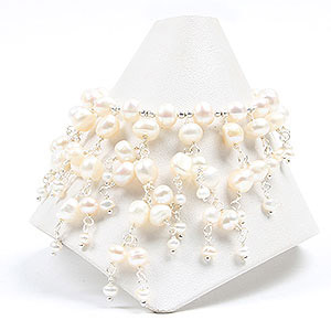 create bohemian bridal bracelet