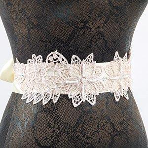 make bridal belt
