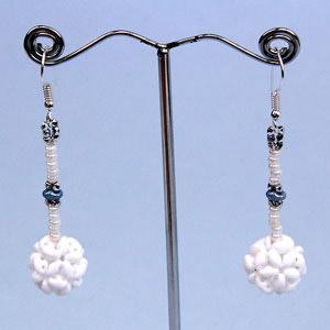 create bridal earrings