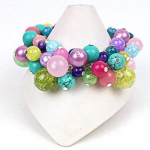 create bubble bracelets