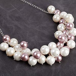 create bubble necklace