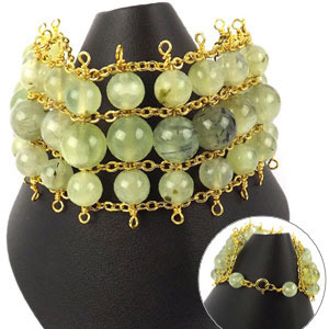 create a chain bracelet
