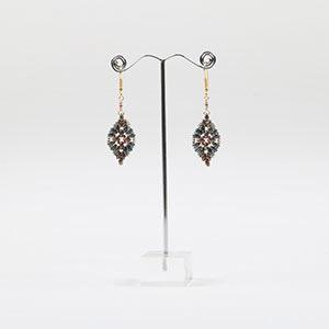 challenge seed bead earrings