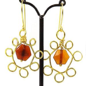 create chandelier earring findings