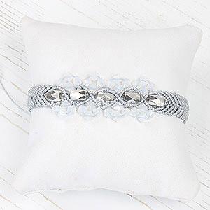 create chevron bracelet