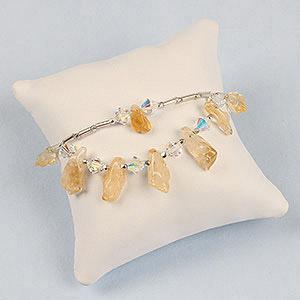 create citrine bracelet