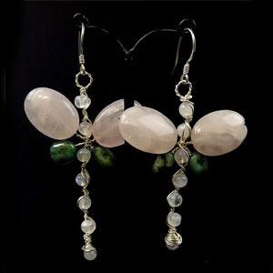 create dragonfly earrings