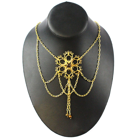 fancy findings bollywood necklace