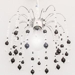 create gemstone chandelier