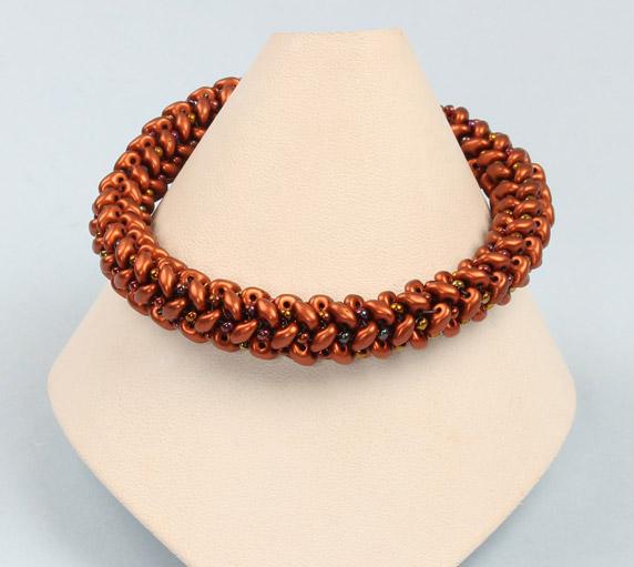 Create a Herringbone Weave Seed Bead Bracelet