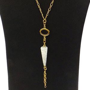 create icicle pendant