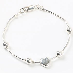 create luxury sterling silver bracelet
