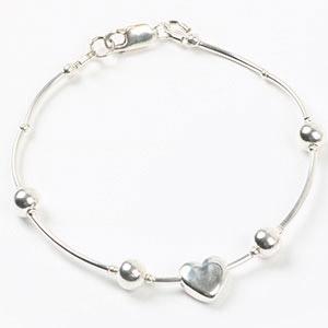 create luxury sterling silver bracelet