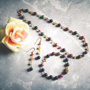 make multi sapphire rosery links