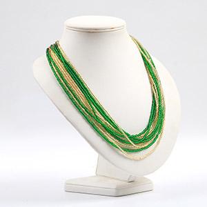 make multi strand necklace