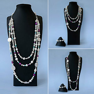 create multifunctional pearl jewellery