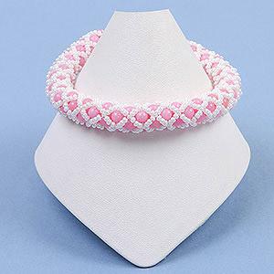 create netted bracelet