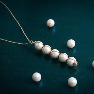 make pearl drop pendant