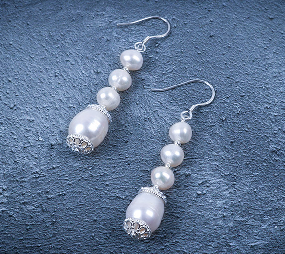 Create Pearl Drop Earrings