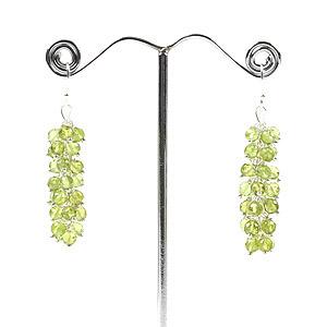 make peridot earrings