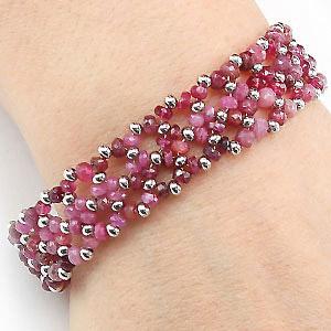 create ruby bracelet