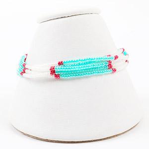 make seed bead bracelet