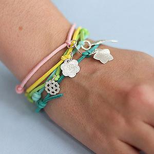 make sliding knot bracelet