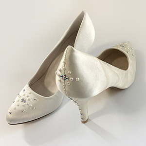 make spring wedding shoe