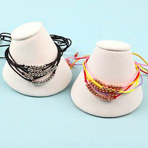 make stacker bracelets