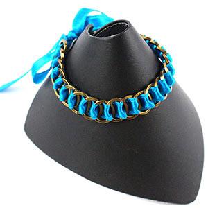 create a summer ribbon friendship bracelet