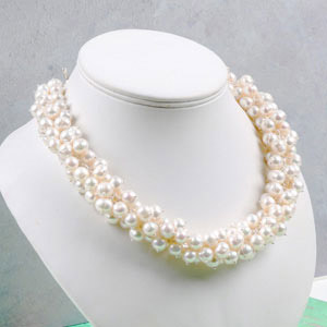 create summer wedding necklace