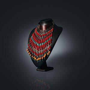 make tribal style collar