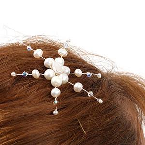 make winter wedding hair pin
