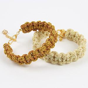 create zari rope bracelet