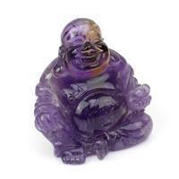 Amethyst Buddha Approx 9cm