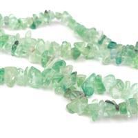 520cts Green Fluorite Small Nuggets, Approx 4x10mm, 84cm