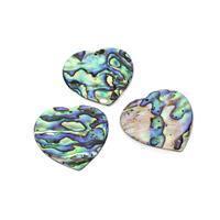 Abelone Hearts Approx 30mm, 3pcs