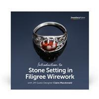 Introduction to Stone Setting in Filigree Wirework with Claire Macdonald DVD