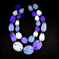 Acrylic Necklace Kit Iridescent Pearl, White Pearl, Plum Pearl (27 pcs)