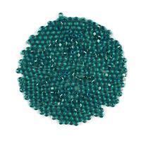 Miyuki Silver Lined Transparent Teal Seed Beads 8/0 (22GM/TB)