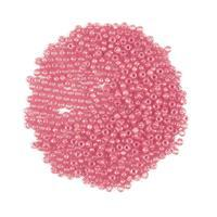 Miyuki Duracoat Silver Lined Dyed Pink Seed Beads 8/0 (22GM/TB)
