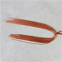 """12"""" Rose Gold Coloured Copper French Wire Approx 1.00mm (20pcs)"""