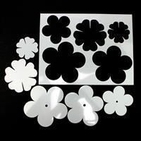 Kit 4 Debbie Bulford designs Daisy and Mini flowers template