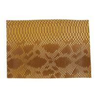 Synthetic-Leather High Texture Dijon 7x10.5in