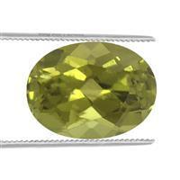 1cts Arizona Peridot Brilliant Oval 8x6mm (N)