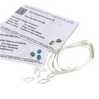 Sunstone & Opal Wrap;  Wrap Setting Connector, Sunstone, Opal & Wire